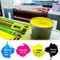 �n���|洋UV紫外�固化�z印油墨�S家直供固化速度更快合成�金�y卡�PVC等平版�z印